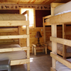Sample bunk beds in the Bear Cabin Cluster